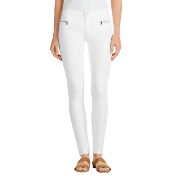 J Brand Denim - J BRAND Emma Exposed Zip Midrise Skinny Jeans